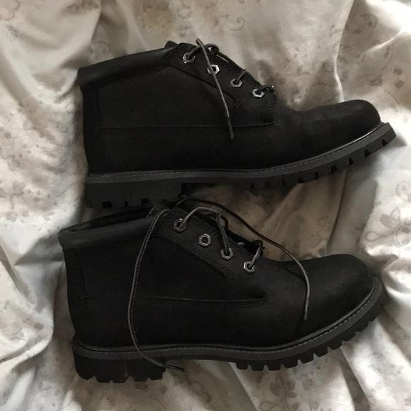 Low Cut Timberland Black Boots   Poshmark